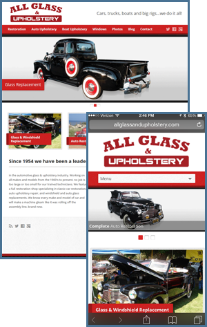 web-design-los-angeles-global-it-all-glass-upholstery